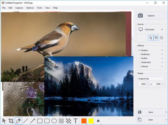 دانلود نرم افزار WinSnap 5.2.2 عکس گرفتن از دسکتاپ ویندوز