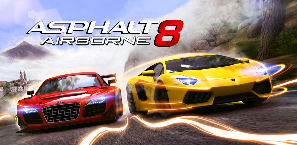 دانلود بازی آسفالت 8 برای اندروید و آیفون Asphalt 8: Airborne 5.3.1a