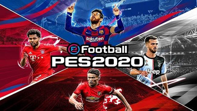 دانلود بازی فوتبال پی اس eFootball  PES 2020 4.5.0 برای اندروید