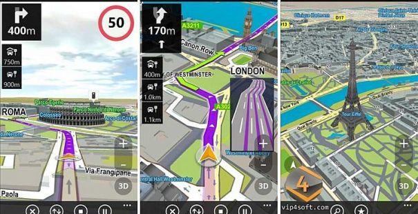 دانلود مسیریاب آفلاین سایجیک GPS  Navigation & Maps Sygic Full 18.7.4 برای اندروید