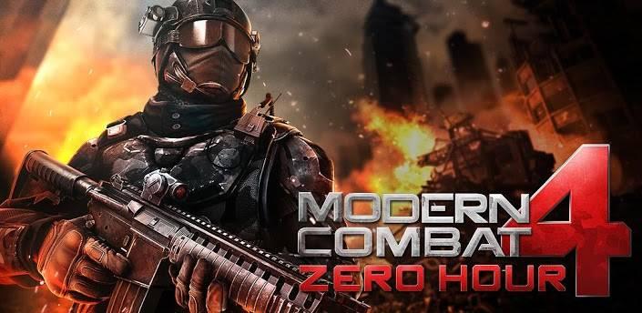 دانلود بازی کامبت 4 اندروید Modern Combat 4: Zero Hour v1.2.3e به همراه مود و دیتا