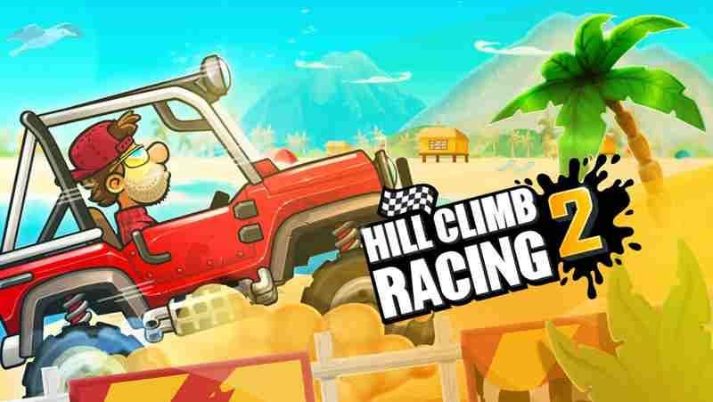 دانلود بازی Hill Climb Racing 1.47.1 تپه نوردی با ماشین اندروید +مود