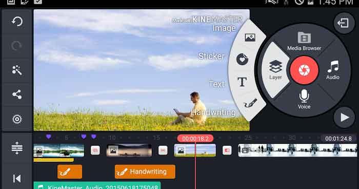 دانلود برنامه KineMaster Pro 4.14.4.16740.GP ویرایش ویدیو حرفه ای اندروید کاملا رایگان