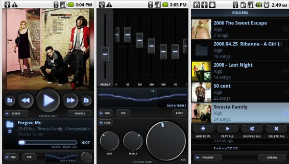 دانلود پلیر پاور ای ام پی Poweramp Music Player 3 Full بهترین پلیر اندروید