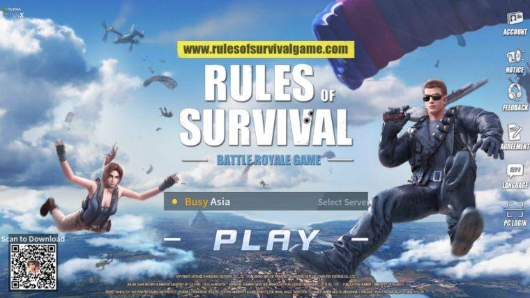 دانلود بازی RULES OF SURVIVAL 1.610178.481198 قوانین بقا برای اندروید