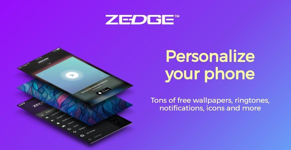 دانلود برنامه والپیپر و آهنگ زنگ ZEDGE 6.8.4 برای اندروید